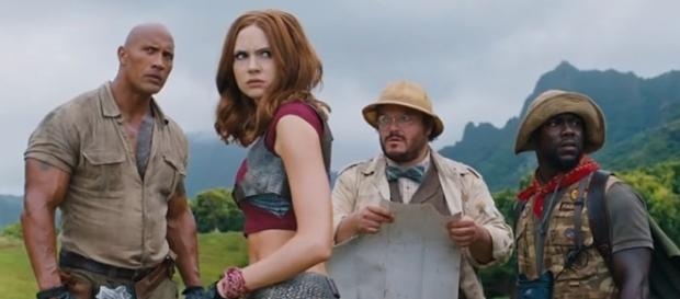 "Photo ""Jumanji: Welcome to the Jungle"" screengrab from Youtube / Sony Pictures Entertainment"