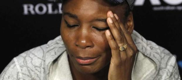 Police: Venus Williams at fault in fatal car crash last June 9. / from Image source BN library