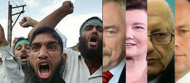 Prezydenci miast, którzy zadeklarowali się przyjmować imigrantów (źródło: google.com).