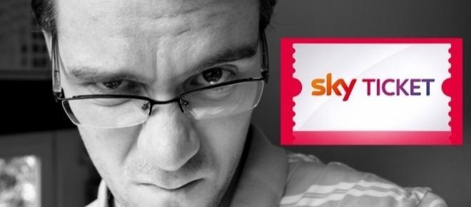 Sky Ticketpanne: Kunden können nicht streamen.