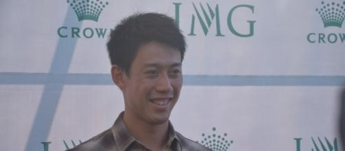 File:Kei Nishikori (Japan)/ Photo Creative Commons Attribution 2.0 Generic via Wikipedia