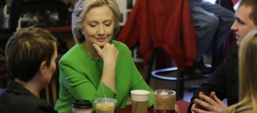 Hillary Clinton photo via BN library