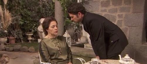 Il Segreto, anticipazioni giugno 2017: Cristobal costringe Francisca a nominarlo amministratore dei suoi beni