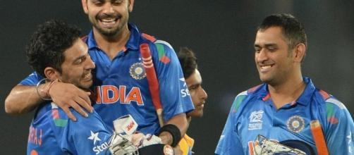 India wins match against Pakistan - image source - BN library