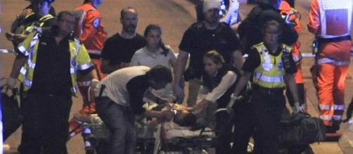 Les secours ont rapidement pris en charge les victimes de l'attaque