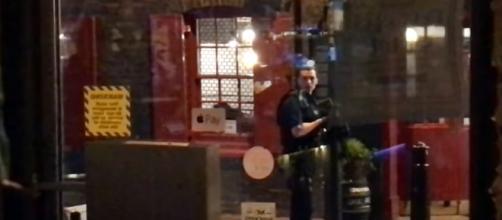 London Bridge Attack - June 3, 2017 / photo screencap from Stephanie Michelle via Youtube