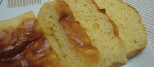 Pão de leite em pó caseiro que não engorda