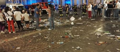 Piazza San Carlo, 3 giugno 2017. I momenti di panico vissuti dai tifosi che stavano assistendo alla partita