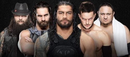 The WWE 'Extreme Rules' 2017 matches include a Fatal 5-Way to find a No. 1 contender. [Image via Blasting News image library/heavy.com]