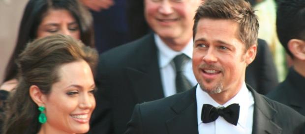 Actors Angelina Jolie and Brad Pitt / Photo by Chrisa Hickey at http://www.flickr.com/photos/chrisahickey/