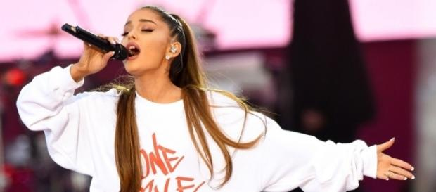 Ariana Grande returns to Manchester for benefit concert (Photo via BBC Music/Twitter)