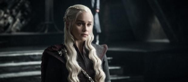"Emilia Clarke as Daenerys Targaryen for ""Game of Thrones"" Season 7 (Photo via Game of Thrones/Twitter)"