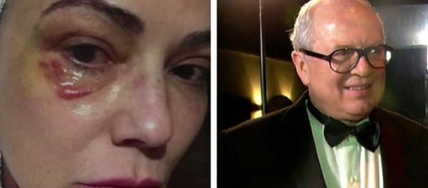 Lírio Parisotto foi condenado por agredir Luíza Brunet