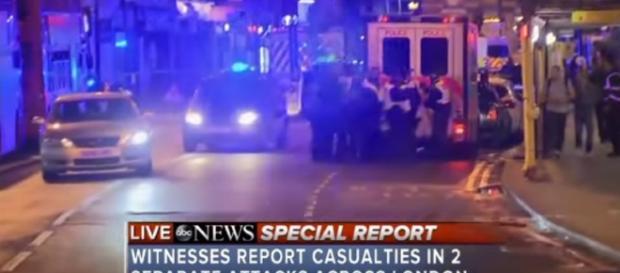 London Bridge attack | screencap from ABC News via Youtube