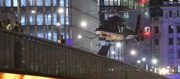London Bridge, poche ore dopo l'attentato terroristico