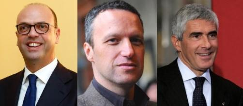 Alfano, Tosi e Casini: tre dei leader interessati a un nuovo progetto politico dei moderati