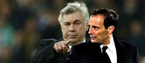 Ancelotti la Juve e Allegri con Costa