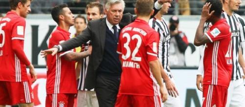 Carlo Ancelotti, tecnico del Bayern Monaco.
