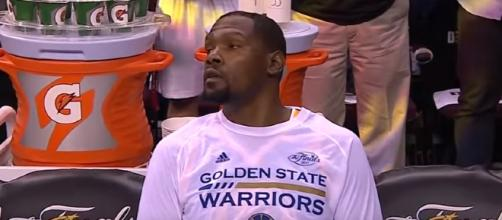 Cavaliers 137, Warriors 116-Game 4 The Finals / photo screencap from Baby Kim Care Gameplay via Youtube