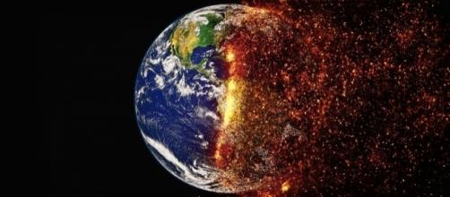 Earth may be on the verge of melting down/Photo via https://pixabay.com/en/climate-change-global-warming-2254711/ (CC BY 2.0)