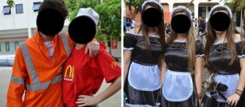Escolas no Rio Grande do Sul causam polêmica ao propor festa com tema ''Se Nada Der Certo...'' Foto: Reprodução/IENH/Colégio Marista