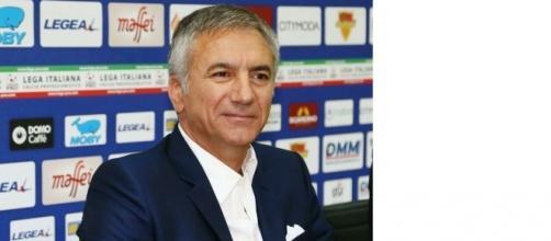 Il direttore sportivo del Lecce, Mauro Meluso.