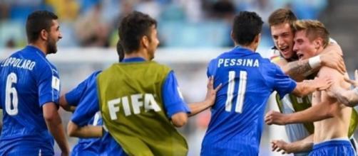La gioia degli azzurrini dopo il successo sullo Zambia: Italia per la prima volta in semifinale ai Mondiali Under 20