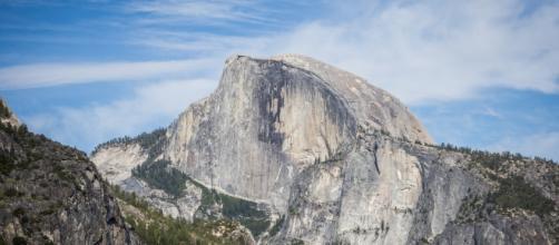 L'imponente Half Dome, in Yosemite National Park, California. Foto: Elisa Parrino