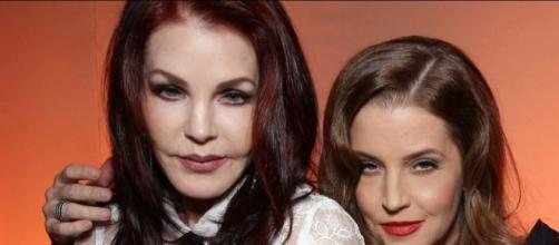 Lisa Marie Presley's Daughters Still Living With Priscilla Presley - Blasting News Image Library