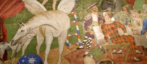 Parade, tela di Picasso, mostra a Napoli, museo di Capodimonte
