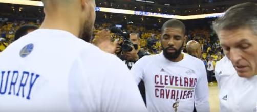 The 2017 NBA Finals Game 2 / Photo screencap from NBA via Youtube