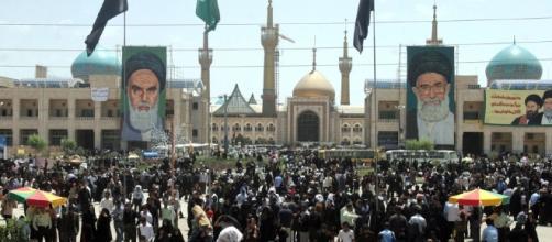 Twin attacks on Iran parliament, Khomeini shrine, 1 dead - Middle ... - stripes.com image sourced via Blasting news Library