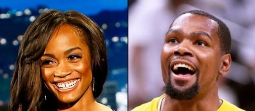 "Will an NBA all-star rekindle romance to a ""Bachelorette"" leading lady? Photo - twitter.com"