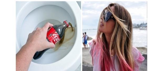 Algumas utilidades do refrigerante Coca-Cola