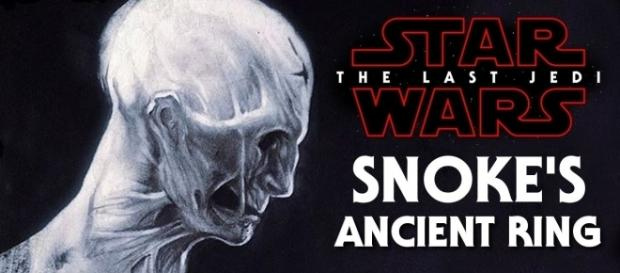 Could Snoke's ancient ring in 'Star Wars 8: The Last Jedi' give away his true identity? (Mike Zero/YouTube)