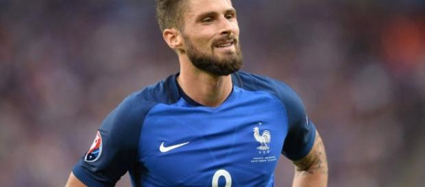 """Giroud : """"On était crispés avec les bouches pâteuses et du mal à ... - eurosport.fr"""