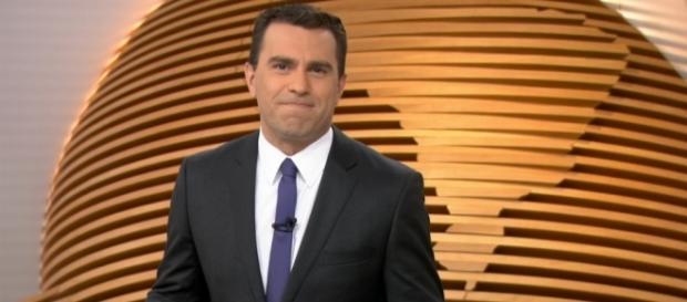 Rodrigo Bocardi comete gafe ao vivo no 'Bom Dia SP' (Foto: Internet)