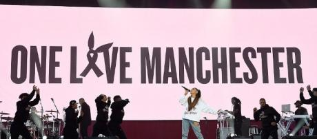 Brilliant stars unite for Ariana Grande's charity concert in Manchester. Photo - dailymail.co.uk