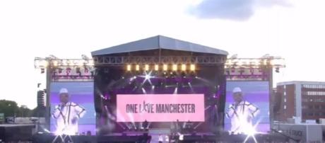 One Love Manchester - Ariana Grande Concert / Photo screencap from Mundo Curioso Tv via Youtube