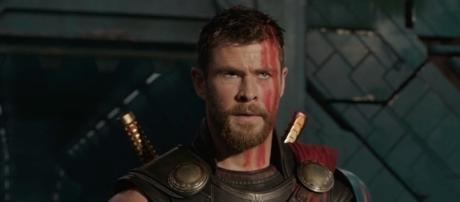 "The Asgardian god is sporting a new hairstyle in ""Thor: Ragnarok."" (Marvel)"