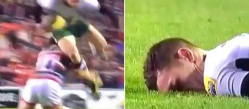 George North's return to the field minutes after this horrific collision shows the inadequacy of the current system - mirror.co.uk