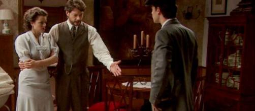 Il Segreto: Sol e Lucas, ecco chi vuole strappare dalle loro braccia Marcos