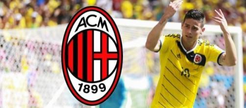 James Rodriguez-Milan: i rossoneri trattano con il Real Madrid