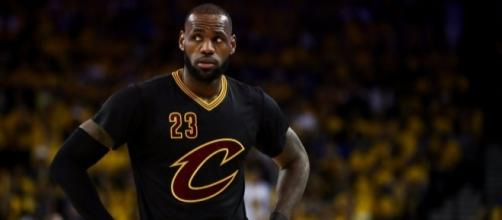 LeBron James ponders his team's future as the 2017 NBA Finals Game 2 rolls into a Cavs loss. / from 'Business Insider' - businessinsider.com
