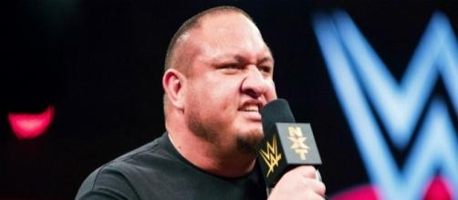 Samoa Joe appeared in several segments on the latest WWE 'Raw' episode. [Image via Blasting News image library/inquisitr.com]