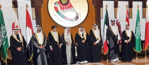 World leaders at the 33rd GCC Supreme Council