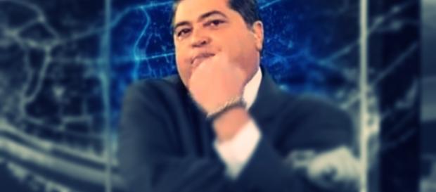 Datena ataca Douglas Tavolaro, vice-presidente de Jornalismo da Record, ao vivo (Foto: Google)