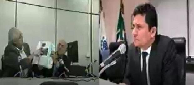 A delação de Pedro Corrêa foi feita por videoconferência (Foto: Reprodução/Justiça Federal)