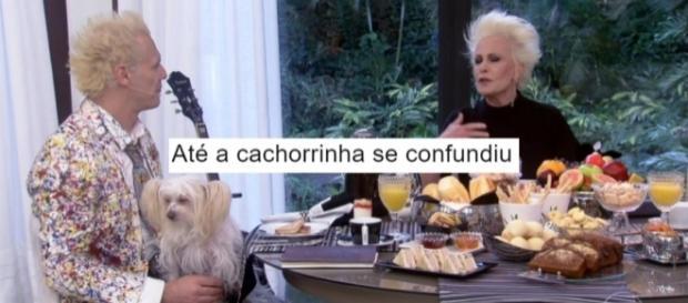 Internautas fazem piada com encontro de Ana Maria e Supla no Twitter (Foto: Reprodução/Twitter)