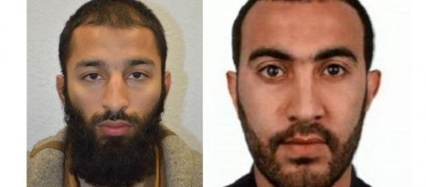 Os terroristas Khuram Butt (27) e Rachid Redouane (30) tiveram suas identidades reveladas pela polícia londrina